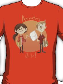 Animators Unite T-Shirt