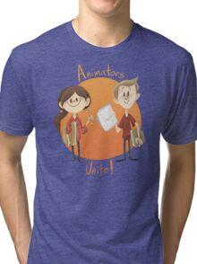 Animators Unite Tri-blend T-Shirt