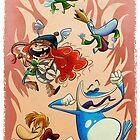 Rayman Legends by Sandra Rivas
