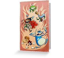 Rayman Legends Greeting Card