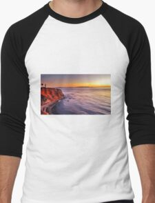 the lighthouse Men's Baseball ¾ T-Shirt
