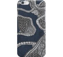 Zentangle Black Phone Case iPhone Case/Skin