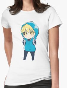 Genos - One Punch Man Womens Fitted T-Shirt