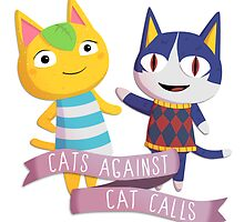 Animal Crossing Cats Against Cat Calls by shebandit