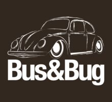 VW Beetle Bus & Bug by velocitygallery