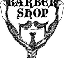 barber shop beard braid by maydaze