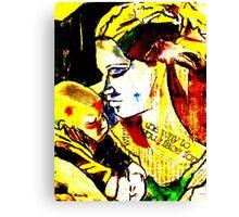 """Motherhood"" Canvas Print"
