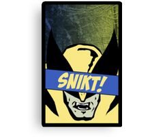 Wolverine Snikt! Canvas Print