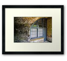 AA23 Military Architecture Framed Print