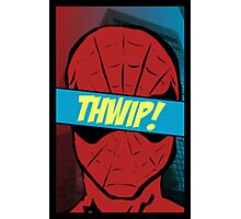 Spidey Thwip! Photographic Print