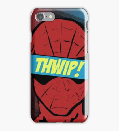 Spidey Thwip! iPhone Case/Skin