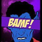 Nightcrawler Bamf! by fletchboogie
