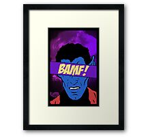 Nightcrawler Bamf! Framed Print