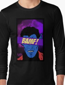 Nightcrawler Bamf! Long Sleeve T-Shirt