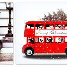 Merry Christmas from London  by ©The Creative  Minds