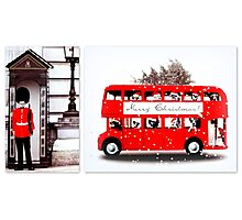 Merry Christmas from London  Photographic Print