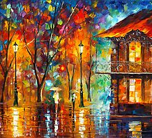 RAIN ENERGY by Leonid  Afremov