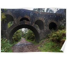 Through The Arches. Poster