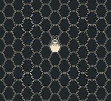 My Totoro Pattern by DaviesBabies