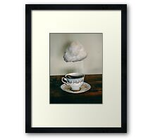 storm in a teacup no. 2 Framed Print