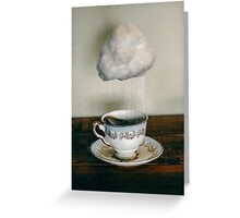 storm in a teacup no. 2 Greeting Card