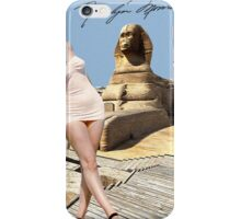 Marilyn and the Sphinx iPhone Case/Skin