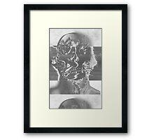Death_Glitch Framed Print