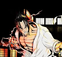Jin Kazama in karate gi by lost-and-found