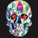 Geometric Skull Candy by DaviesBabies
