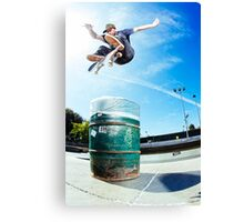 Eddie Wall Canvas Print