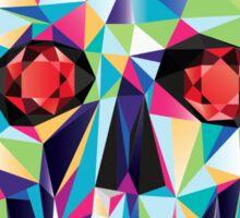 Geometric Skull Candy Sticker