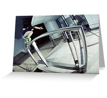 Alex Lawton - Bs Over Crooks  Greeting Card