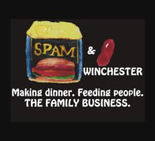 Spam & Bean Winchester. by JEKent