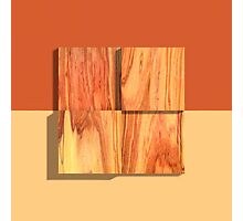 Tulipwood Blocks Four Photographic Print