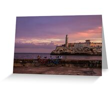Castillo Del Morro Greeting Card