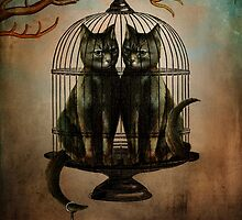 Naughty Kitties by ChristianSchloe