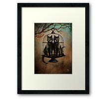 Naughty Kitties Framed Print