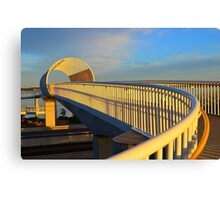 Freeway Overpass Canvas Print
