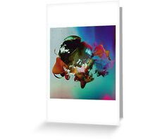 Into Places Greeting Card