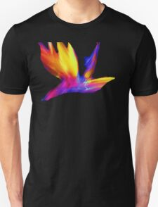 Abstract Wings Of Color Unisex T-Shirt