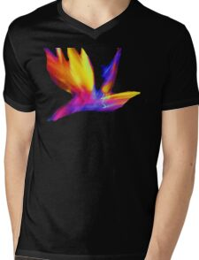Abstract Wings Of Color Mens V-Neck T-Shirt