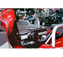 car :Rêvererie of Child! ... collector 1997 Canon eos 5, 28-70 mm f.2.8 L canon  8  (c)(t) by Olao-Olavia / Okaio Créations Photographic Print