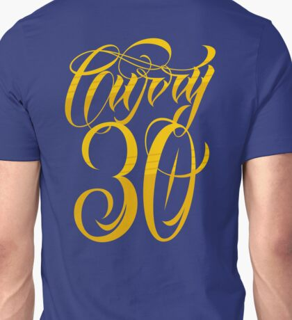 Steph Curry 30 Typography Unisex T-Shirt