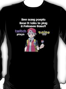 How many players does it take to play a pokemon game T-Shirt