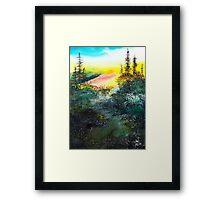 Good Morning 3 Framed Print