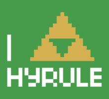 I Triforce Hyrule Kids Tee