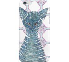 Cat in a bottle iPhone Case/Skin