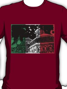 Florence Cathedral (Il Duomo) Flag T-Shirt