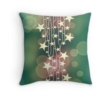 Happy Birthday To You - rainbow stars Throw Pillow