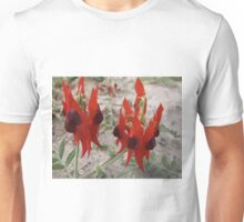 Desert Sturt Pea Unisex T-Shirt